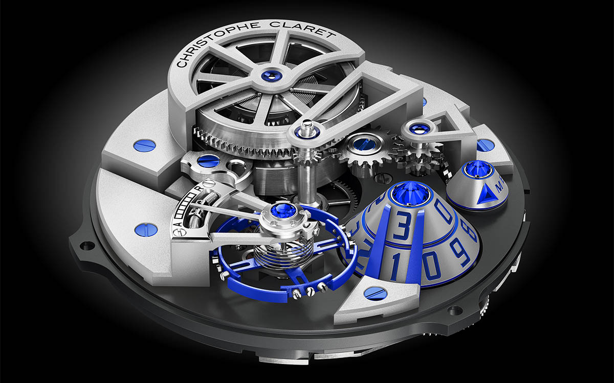 ChristopheClaret Maestro Movimiento Blue fx