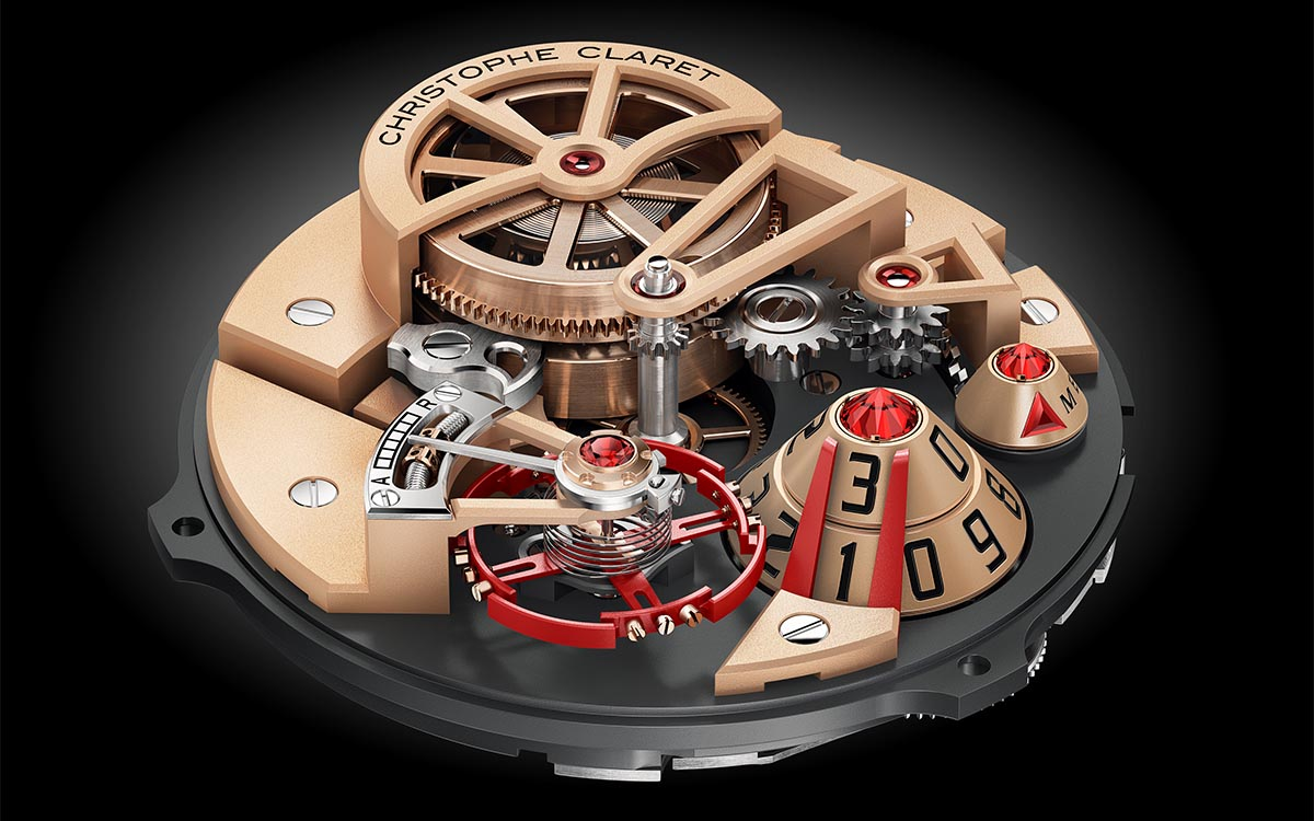 ChristopheClaret Maestro Movimiento Red fx