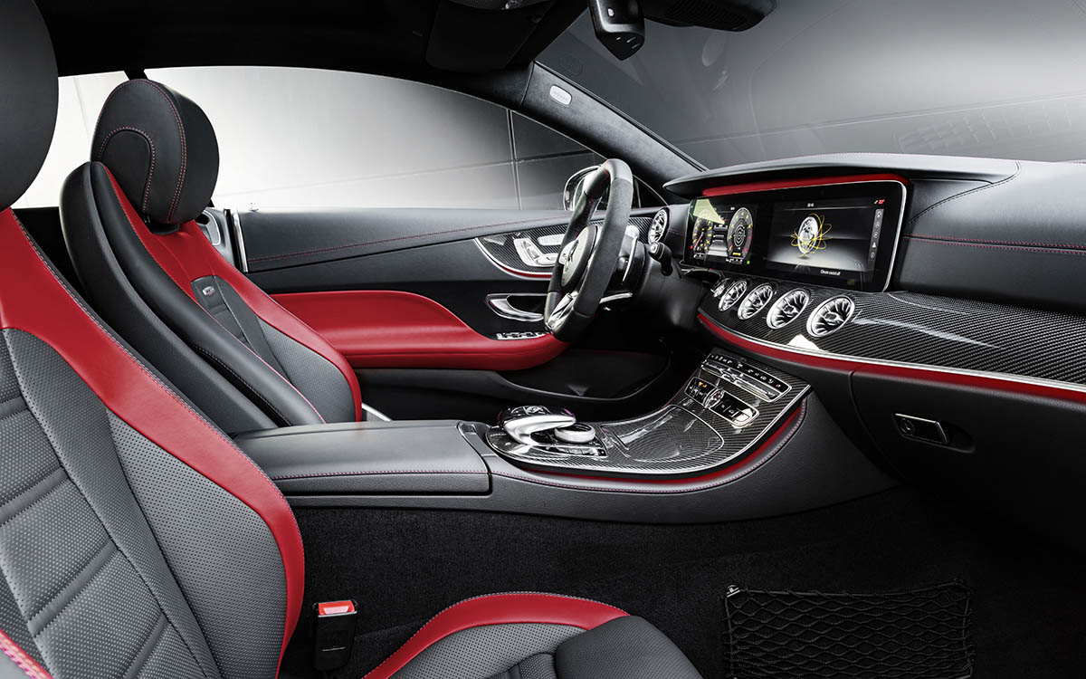 Mercedes AMG CLS 53 4MATIC Coupe Plus interior butacas fx
