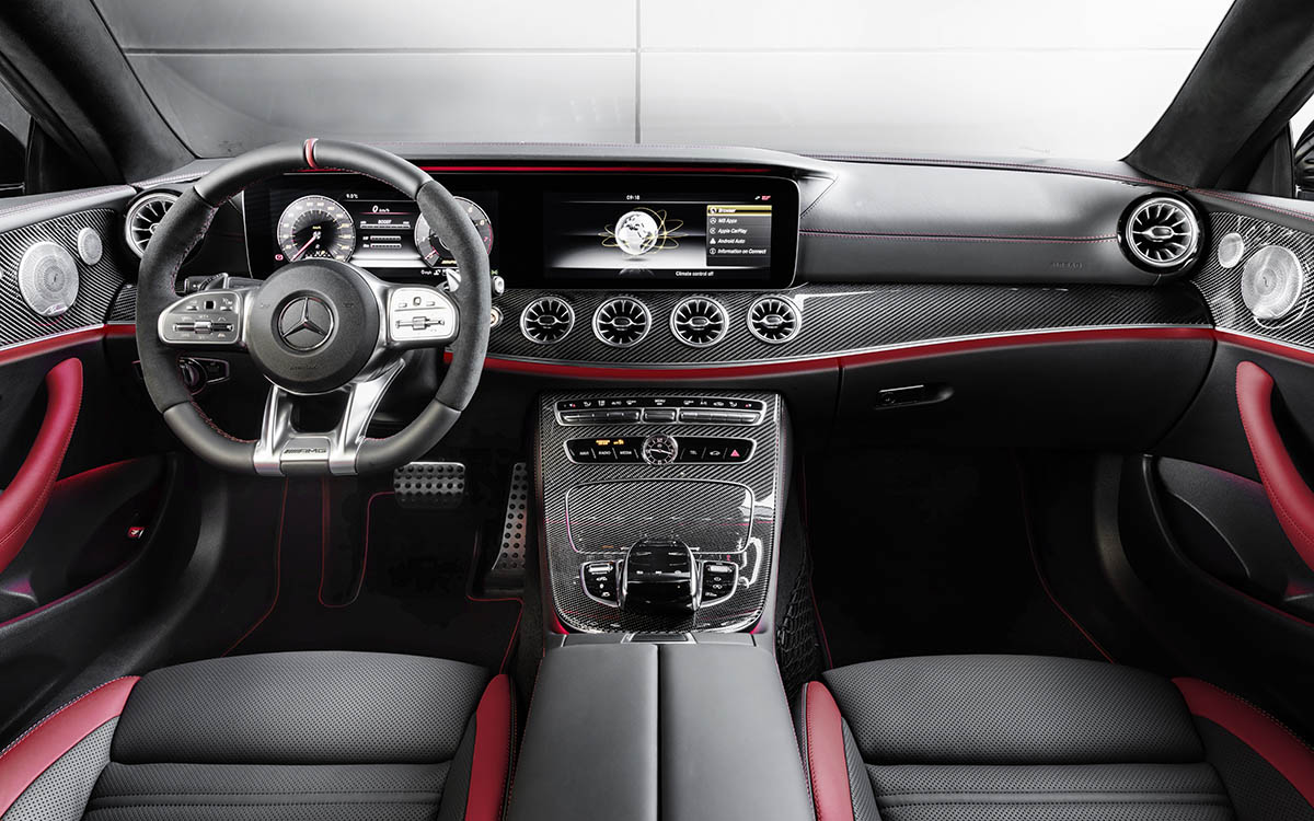 Mercedes AMG CLS 53 4MATIC Coupe Plus interior fx