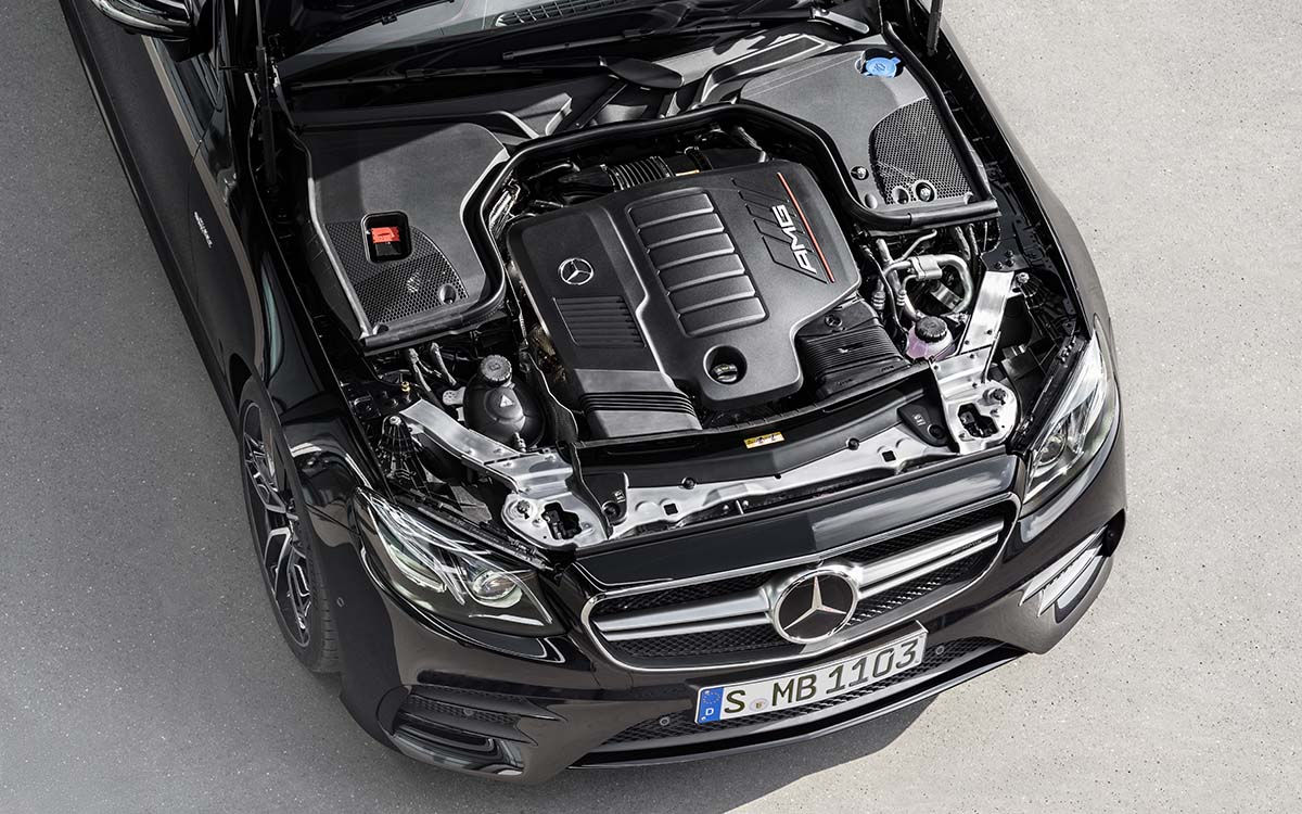 Mercedes AMG CLS 53 4MATIC Coupe Plus motor fx