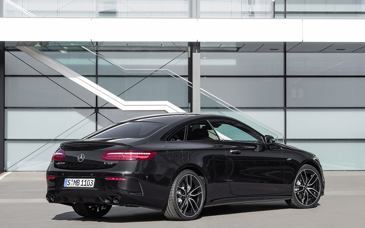 Mercedes AMG CLS 53 4MATIC Coupe Plus trasera fx