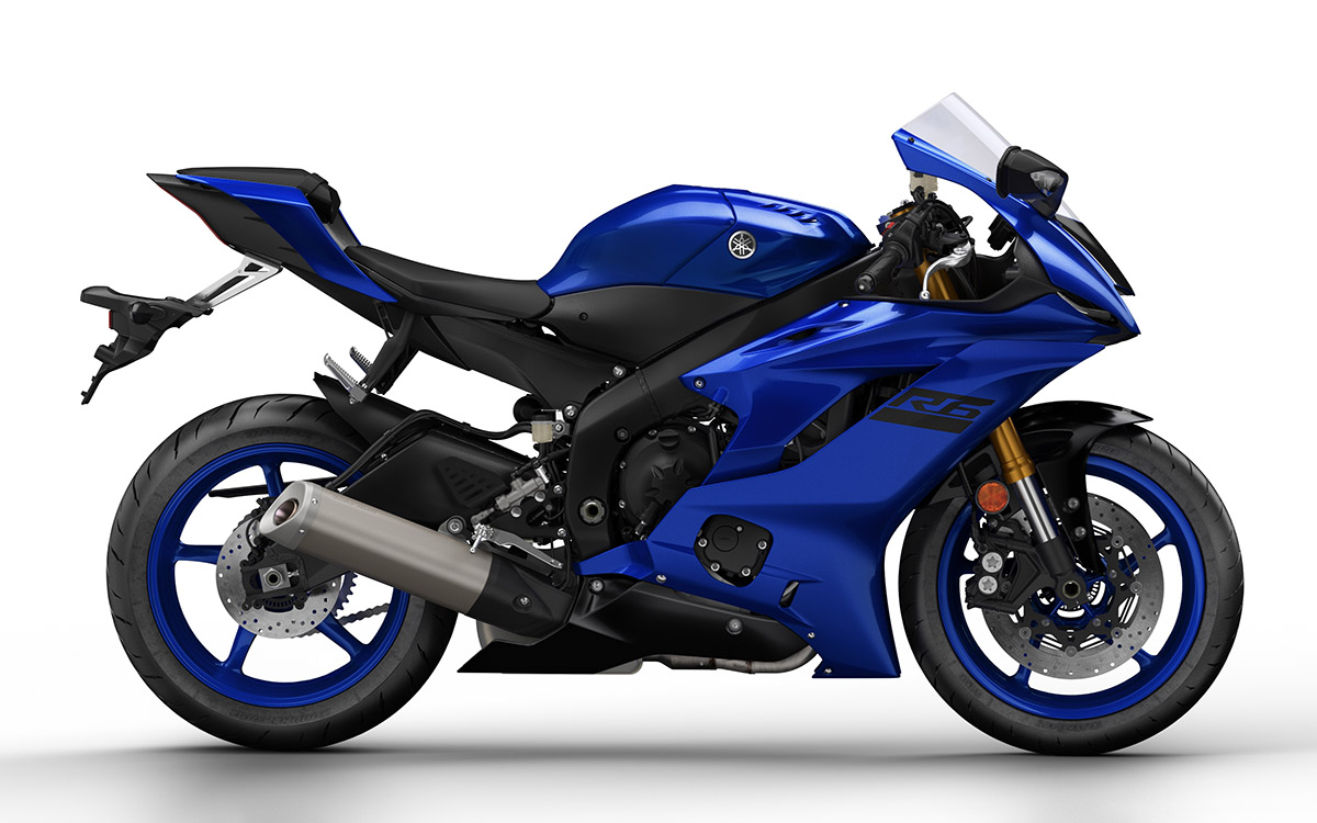 Yamaha YZF R6 lateral fx