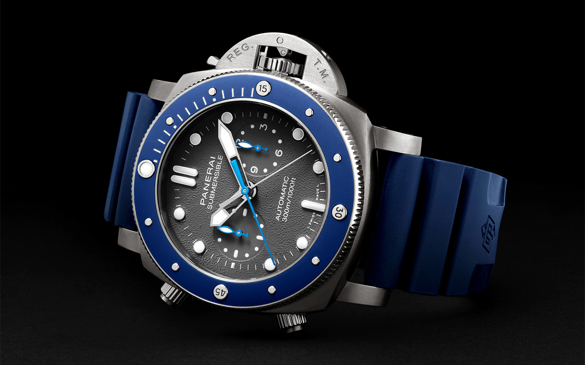Panerai Submersible Chrono Guillaume Néry Edition Cover fx