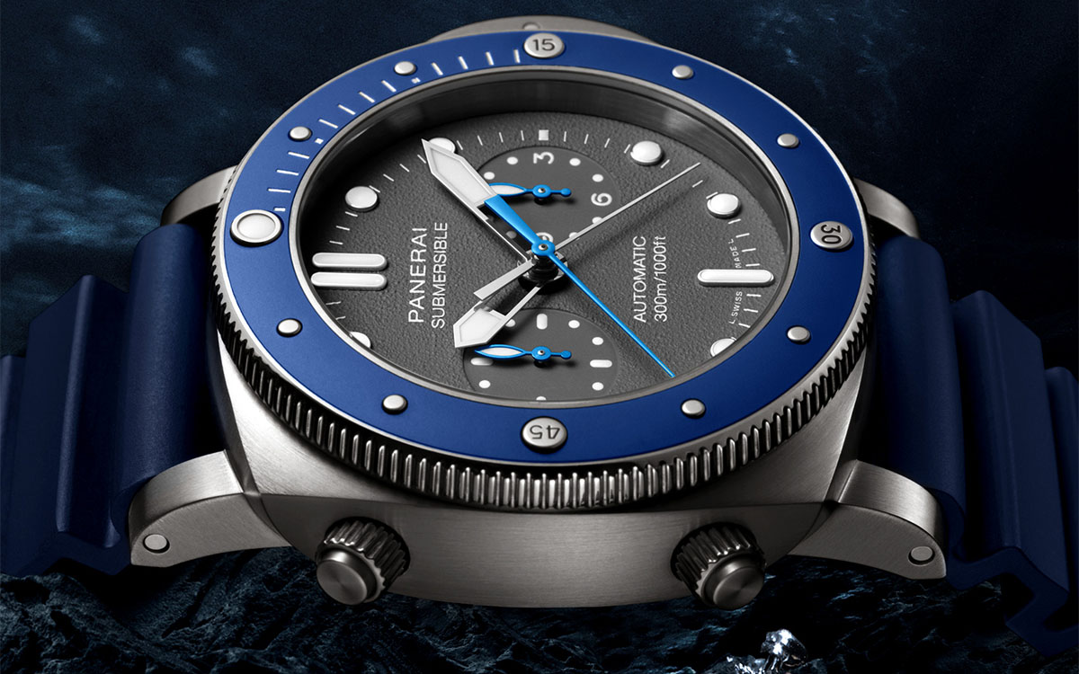 Panerai Submersible Chrono Guillaume Néry Edition Lateral fx