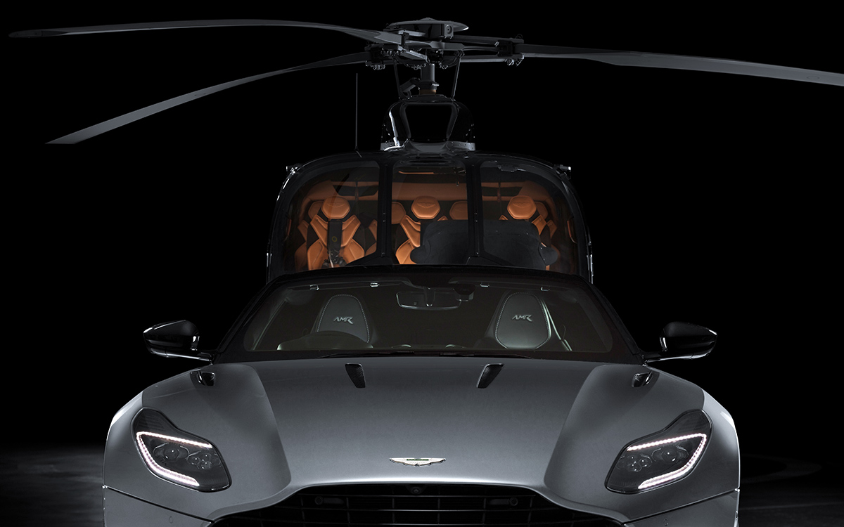 Aston Martin Airbus Corporate Helicopters frontal fx
