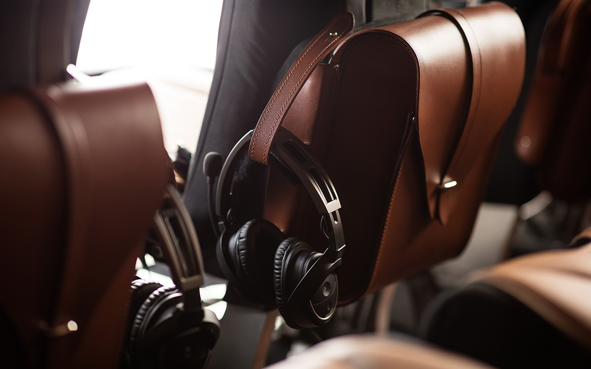 Aston Martin Airbus Corporate Helicopters headsets fx
