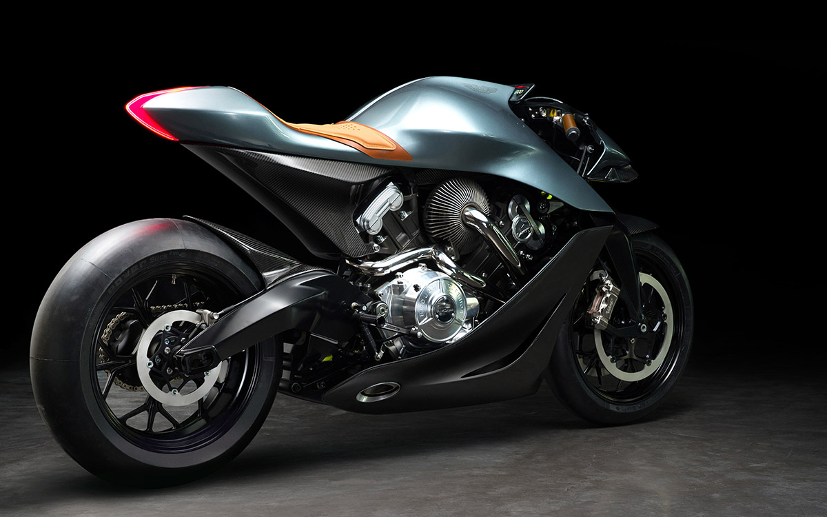 Aston Martin Limited Edition Motorcycle 3 4 tras fx