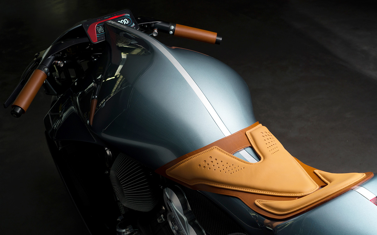 Aston Martin Limited Edition Motorcycle aerea fx