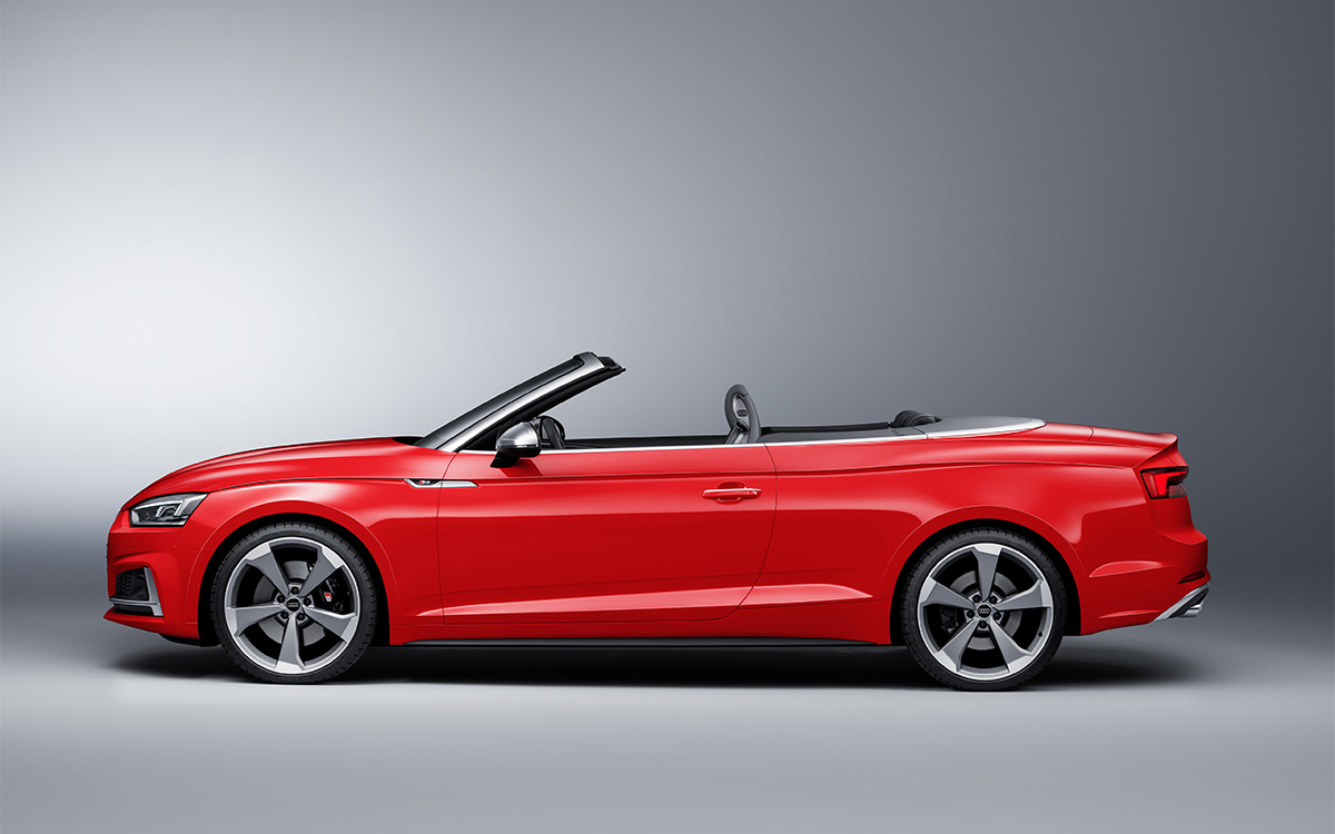 Audi S5 Cabriolet Lateral fx