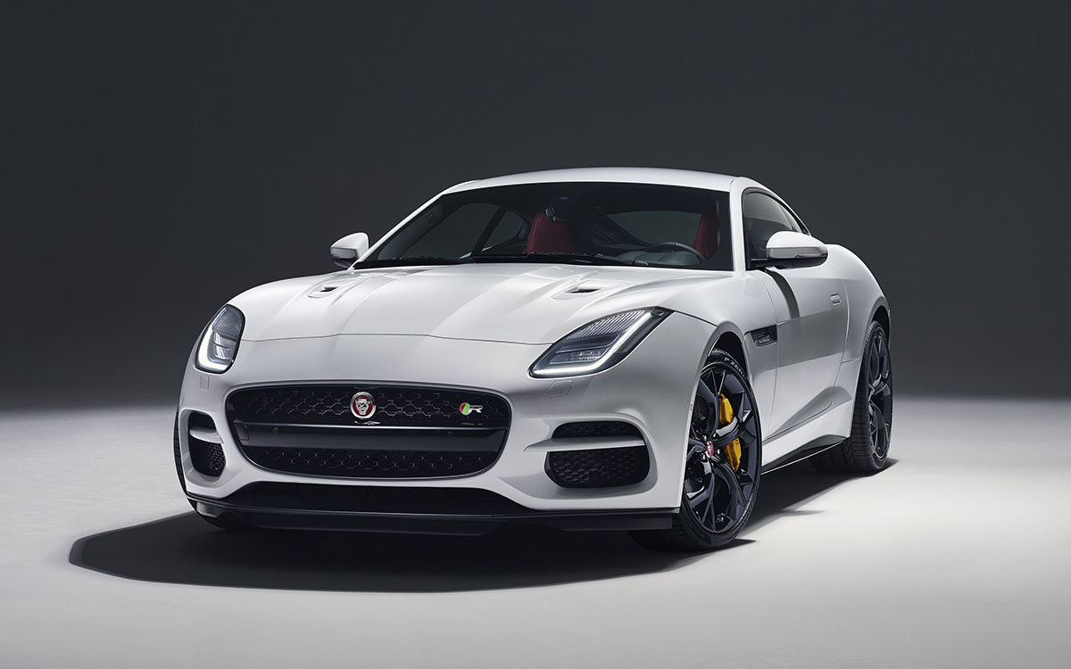 Jaguar F TYPE Frente Blanco fx