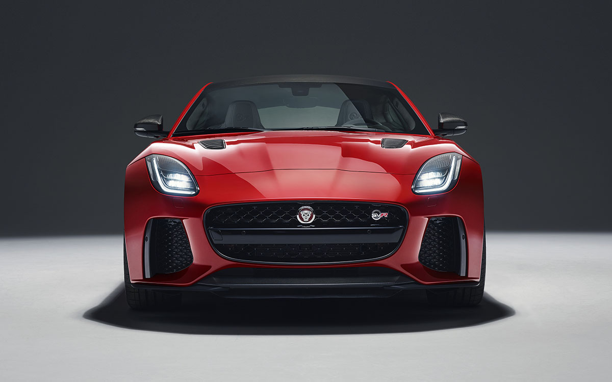Jaguar F TYPE Frontal Rojo fx