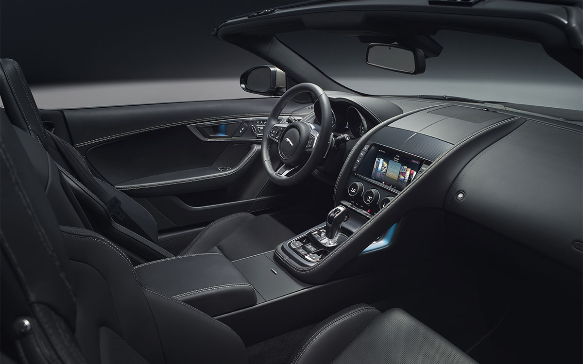 Jaguar F TYPE Interior 2 fx