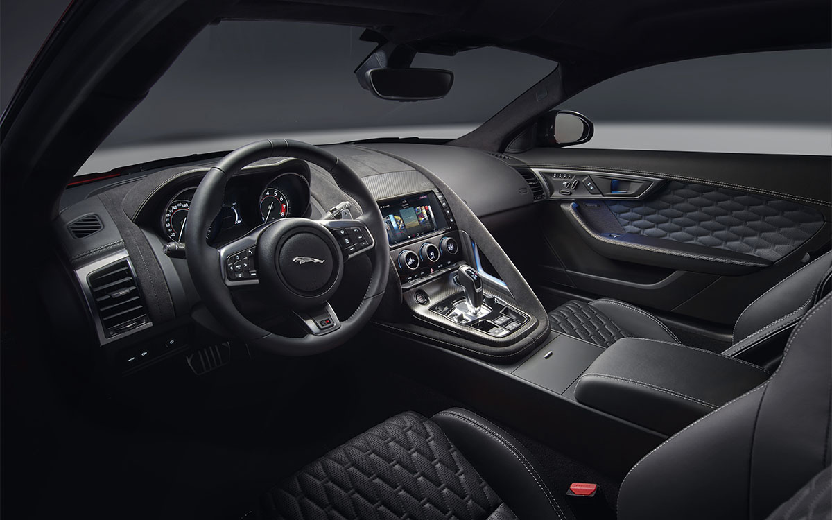 Jaguar F TYPE Interior 3 fx