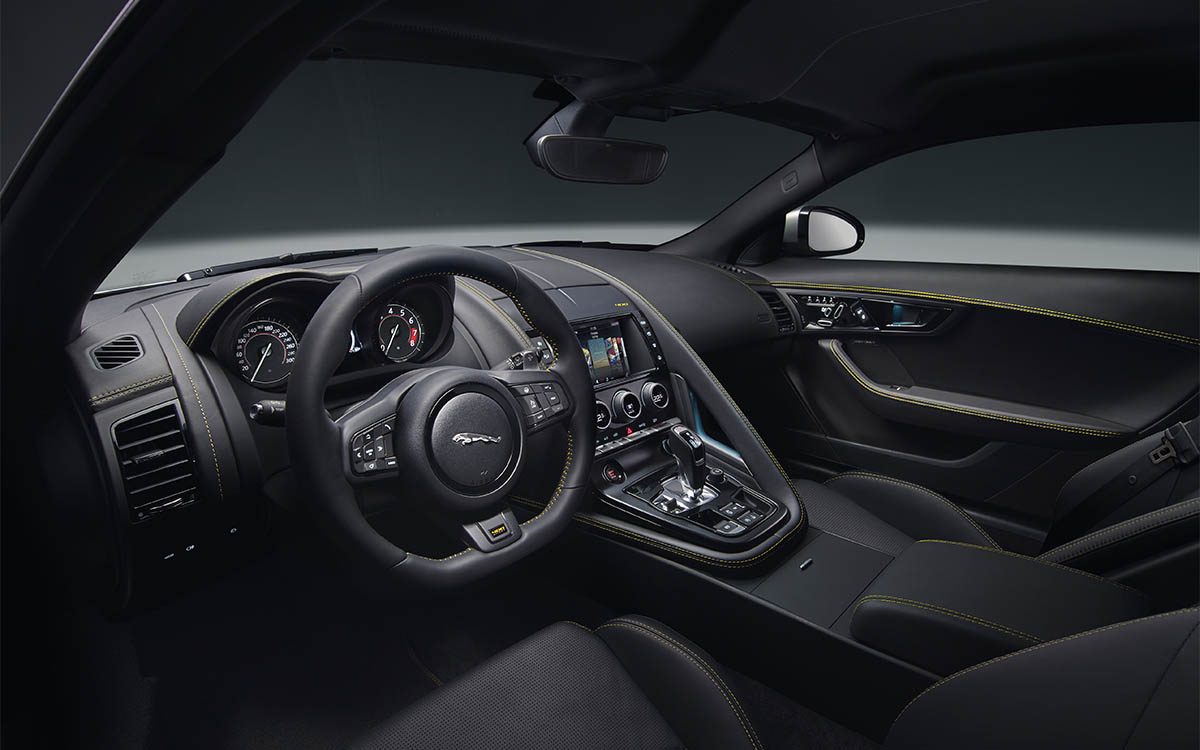 Jaguar F TYPE Interior Lado fx