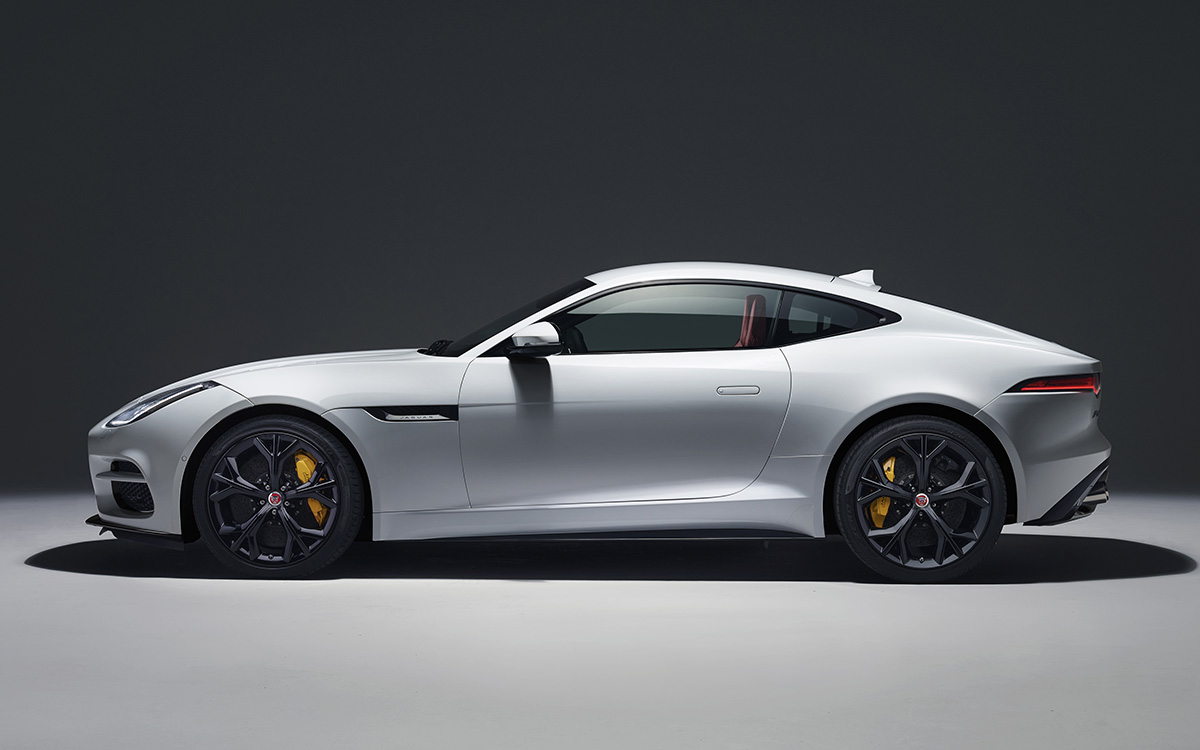 Jaguar F TYPE Lateral Blanco fx