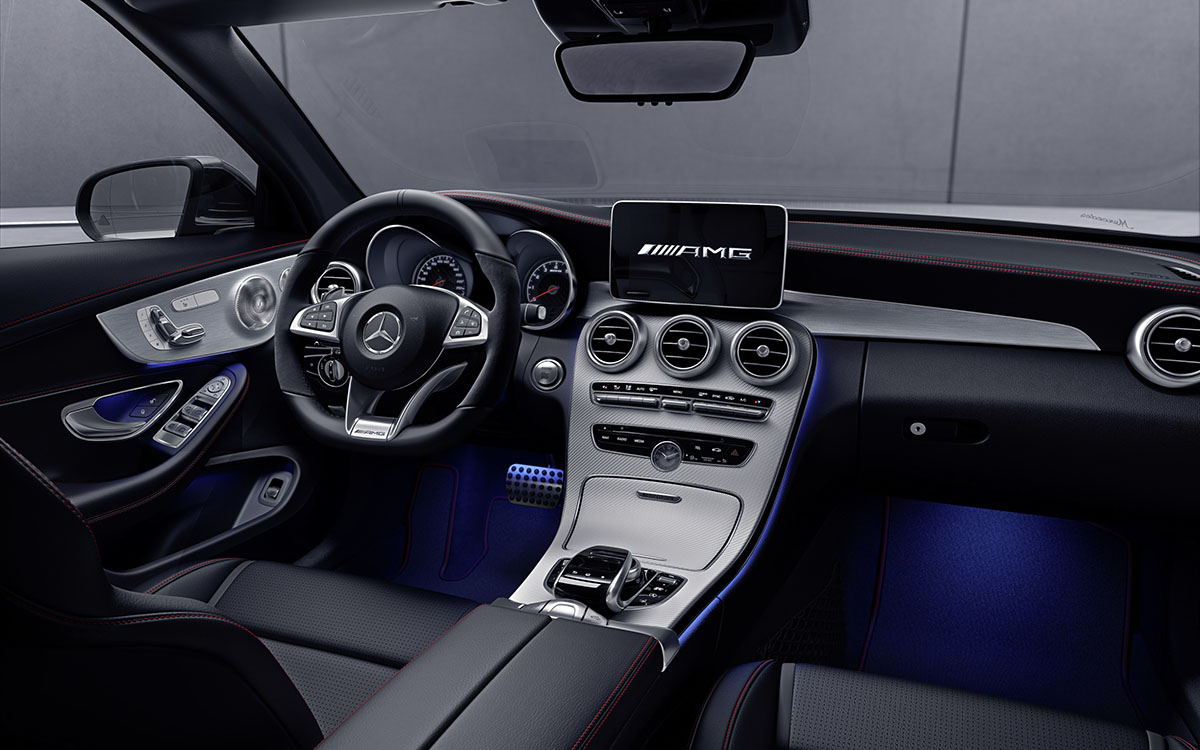 AMG GT C Roadster 50 Edition Negro Interior fx