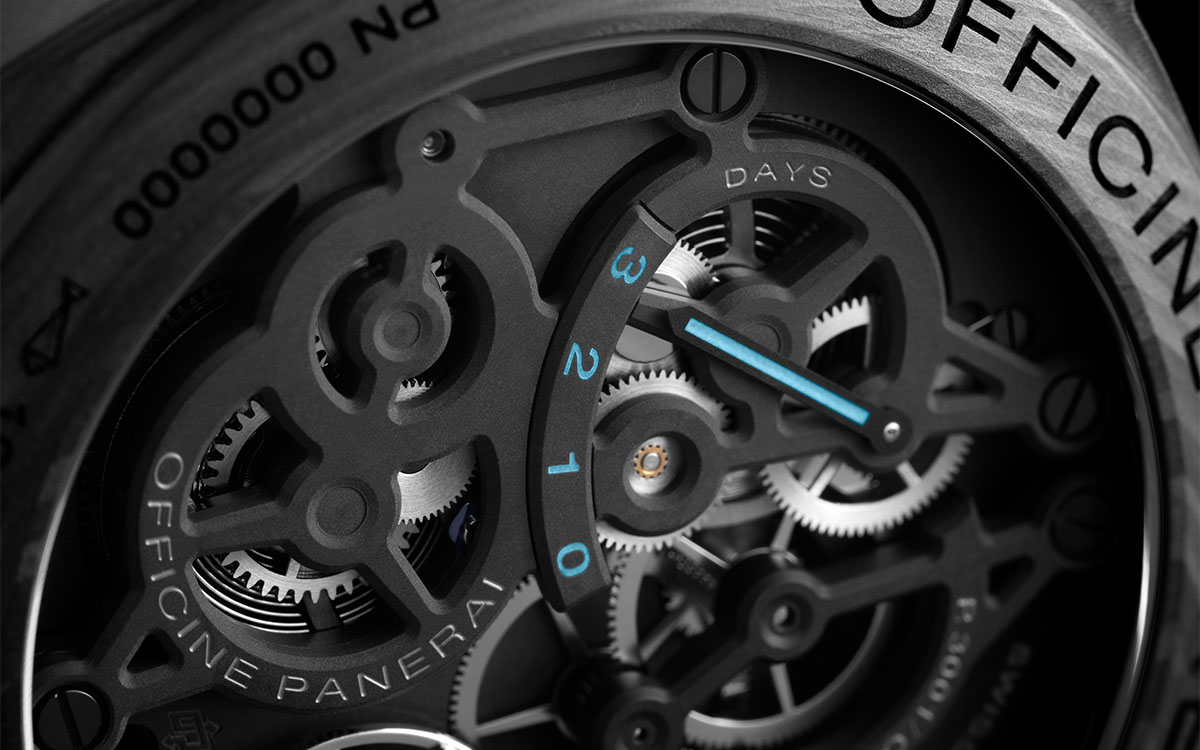 Panerai Lab ID Luminor 1950 Carbotech 3 Days Complicaciones fx