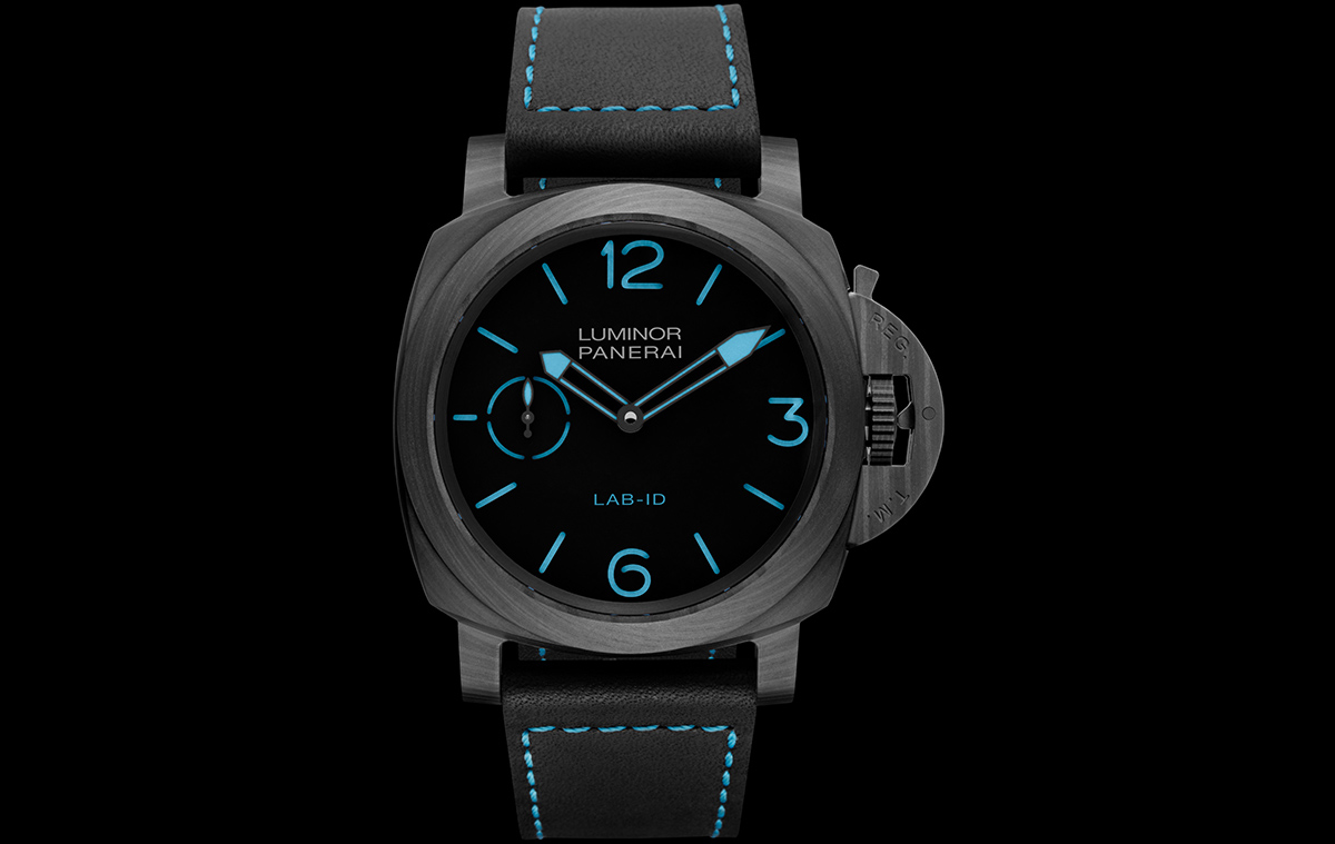 Panerai Lab ID Luminor 1950 Carbotech 3 Days Frontal fx
