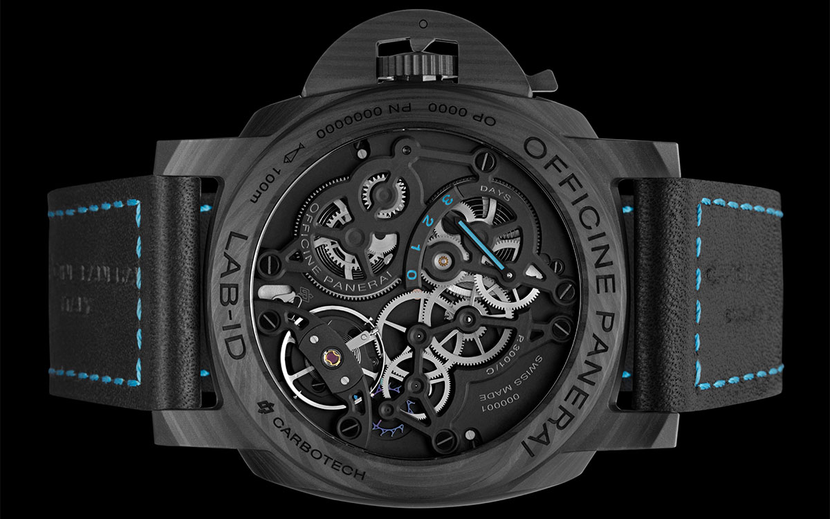 Panerai Lab ID Luminor 1950 Carbotech 3 Days Trasera fx