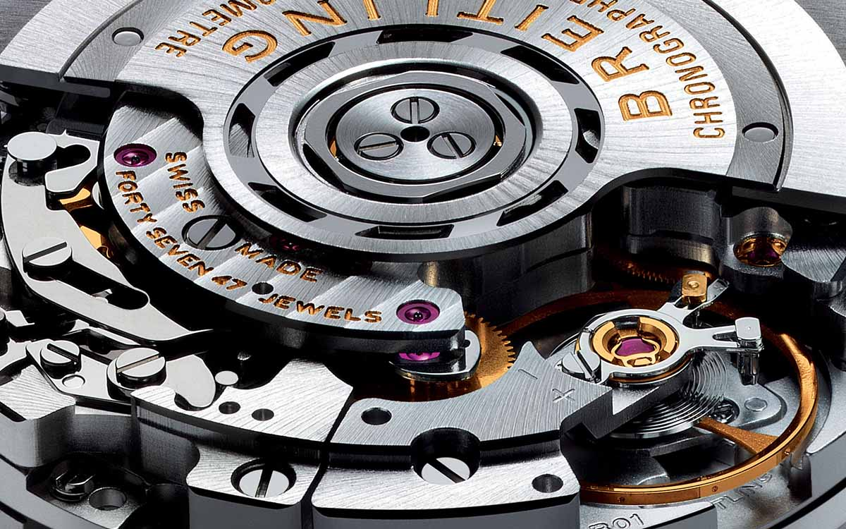 Breitling Manufacture Caliber fx