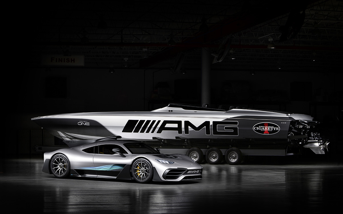 Mercedes AMG Cigarette Racing 515 Project ONE frente fx