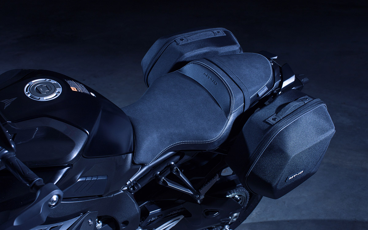 MT 10 Tourer Edition asiento fx