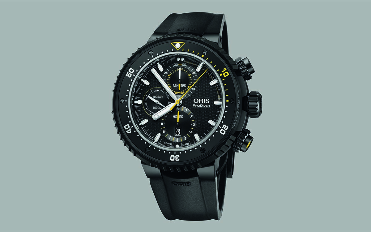 Oris Dive Control Limited Edition frontal fx