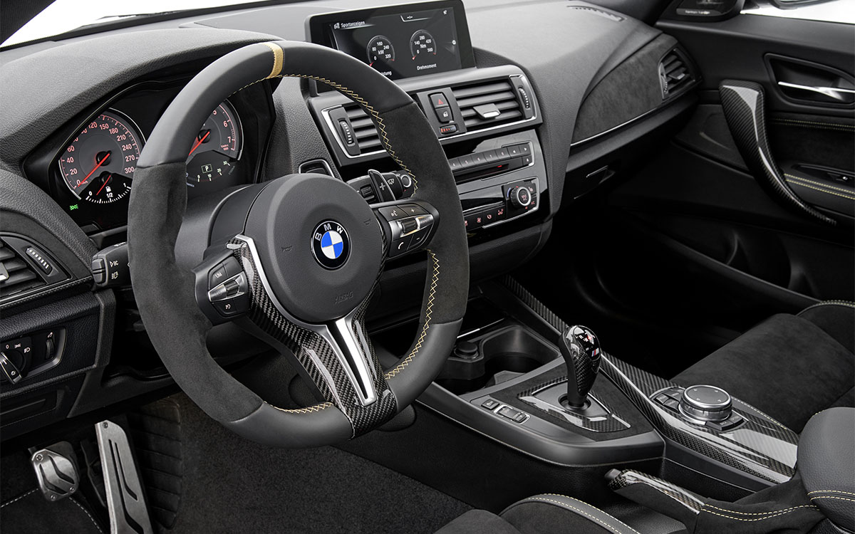 BMW M Performance Parts Concept interior fx