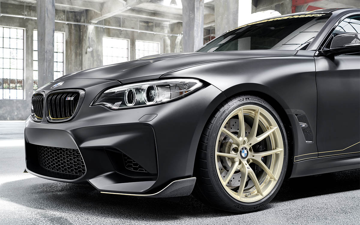 BMW M Performance Parts Concept trompa llanta fx