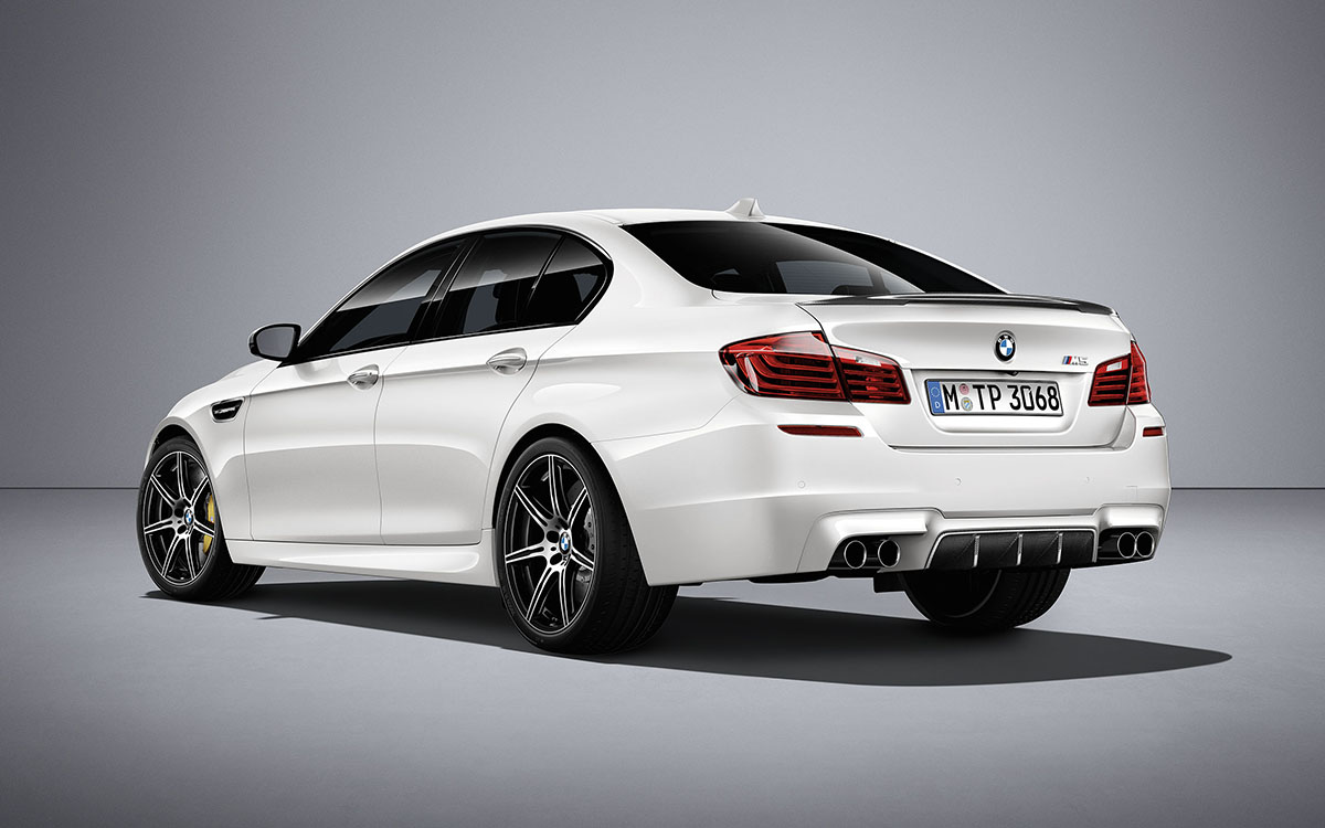 BMW M5 Competition Edition Trasera fx