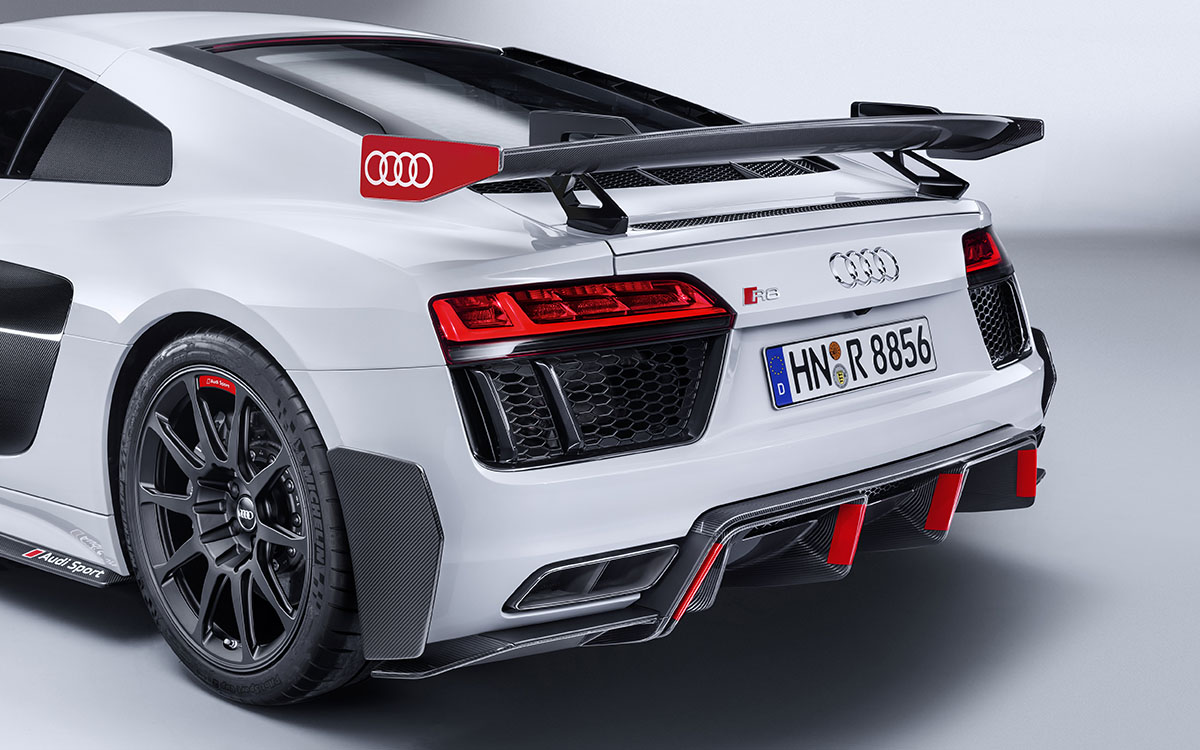 Audi Sport Performance Parts Audi R8 Trasera Lateral fx