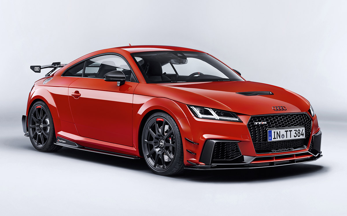 Audi TT performance parts frente 3 4 fx