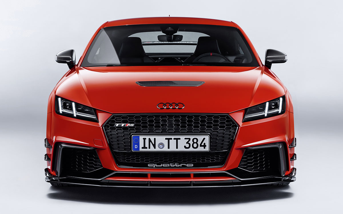 Audi TT performance parts frontal fx