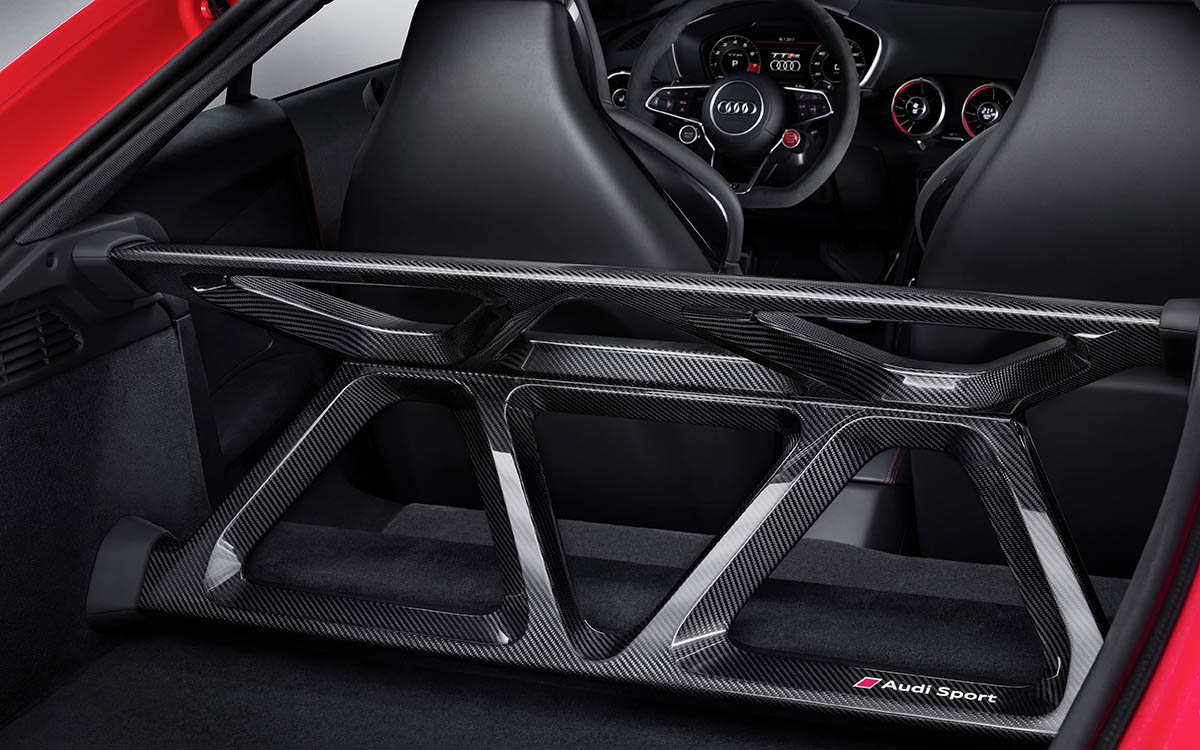Audi TT performance parts interior trasera fx