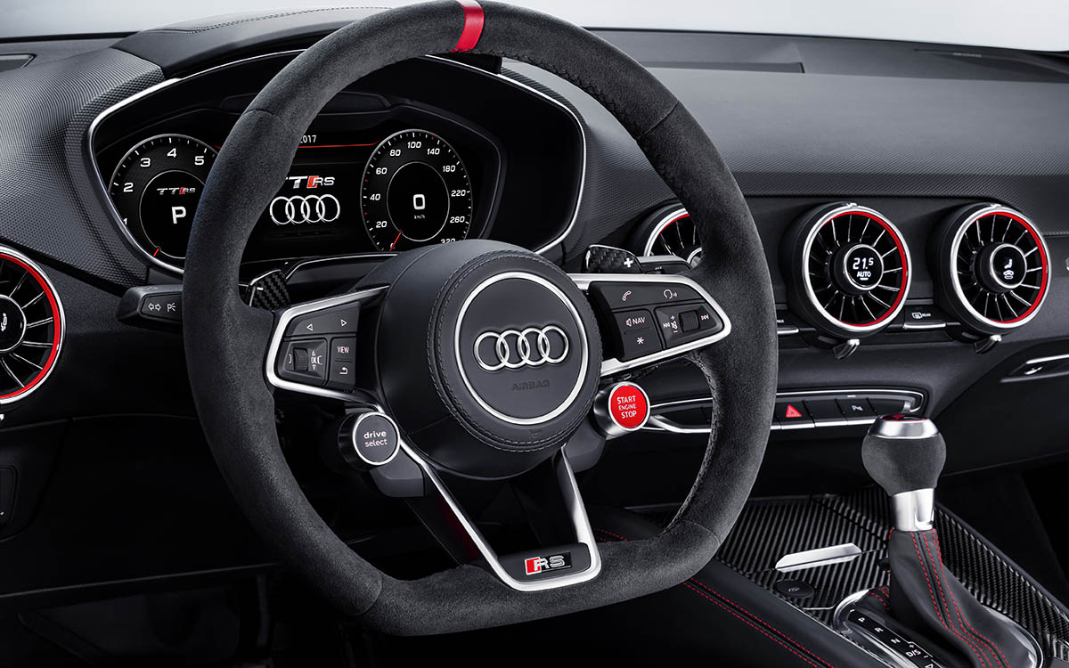 Audi TT performance parts interior volante fx