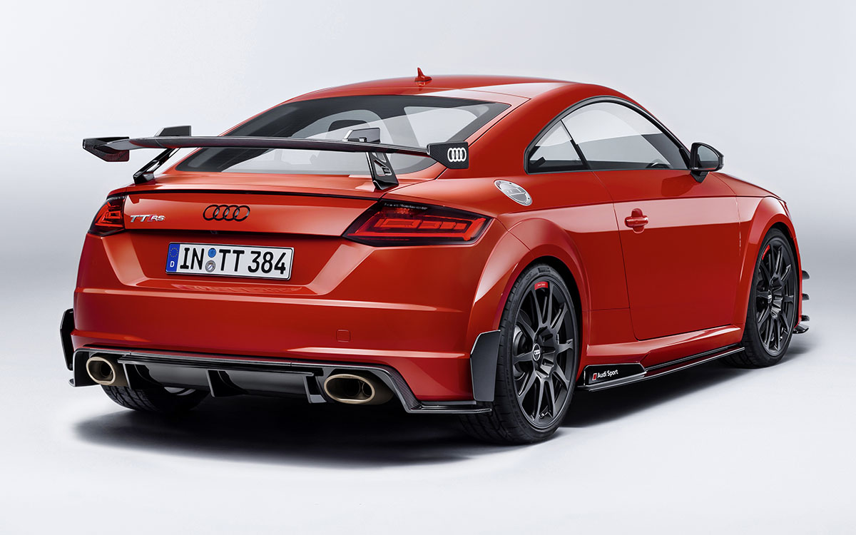 Audi TT performance parts trasera der fx
