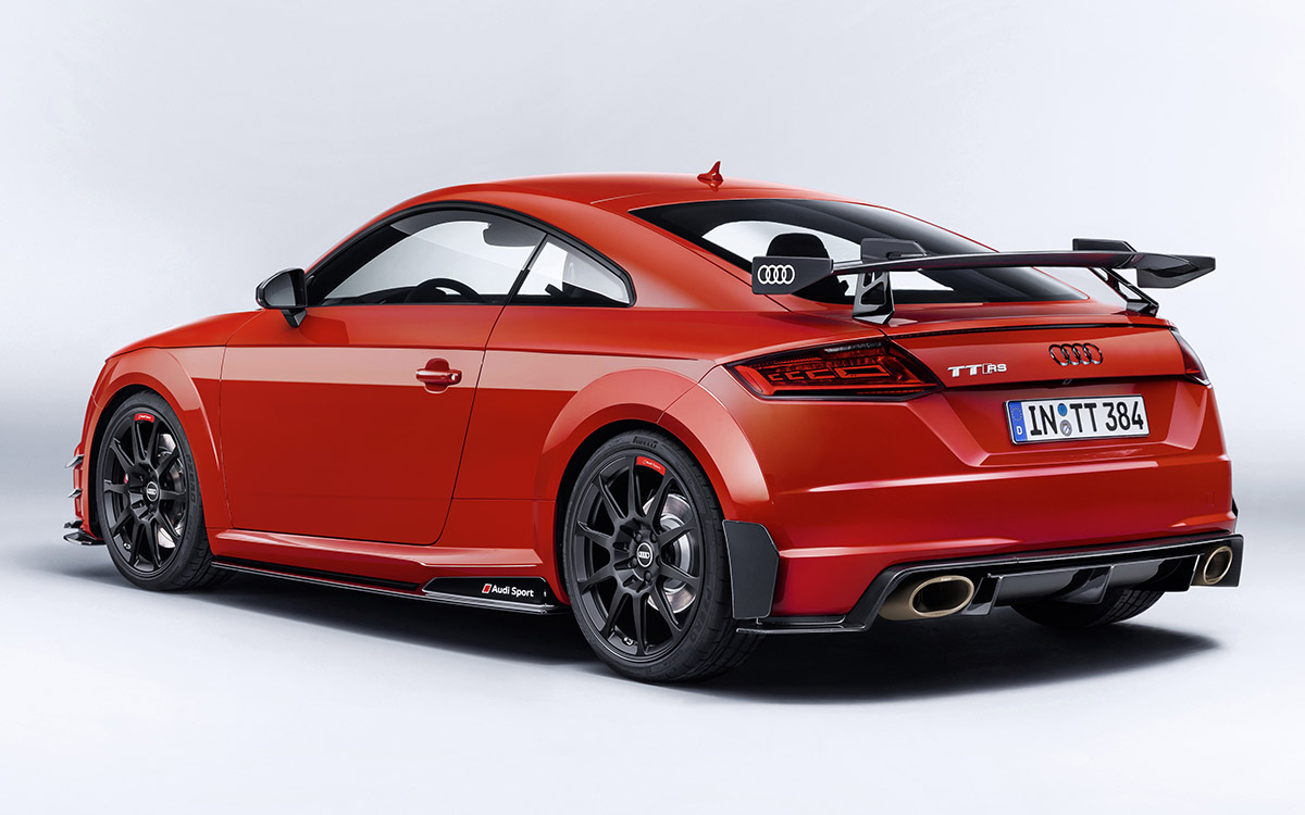 Audi TT performance parts trasera lateral fx