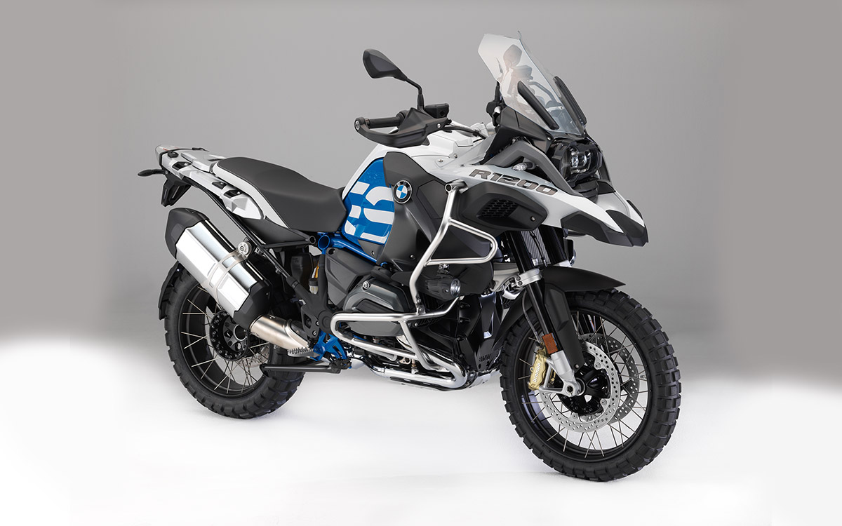 BMW R 1200 GS Adventure Azul 3 4 fx