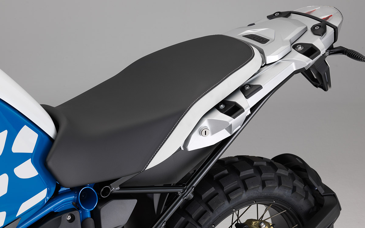 BMW R 1200 GS Adventure Detalle Asiento fx