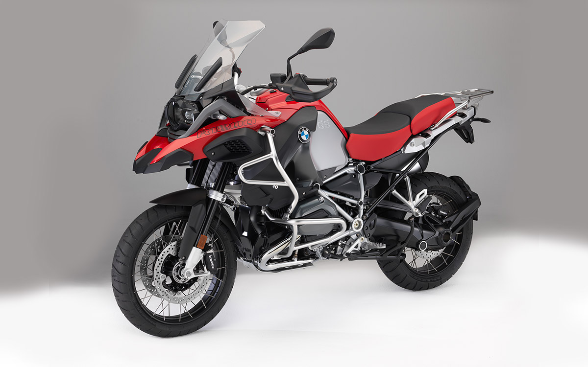 BMW R 1200 GS Adventure roja fx