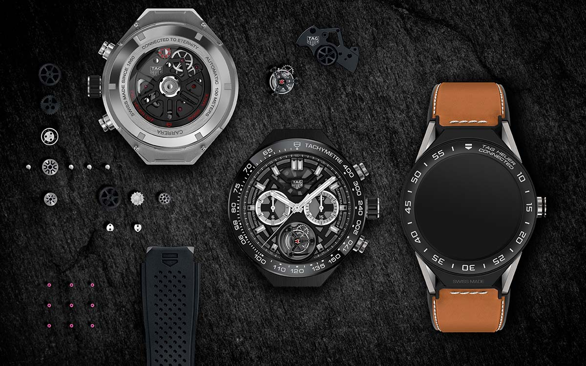 TAG Heuer Connected Modular 45 Luxury Kit HD 2017 fx