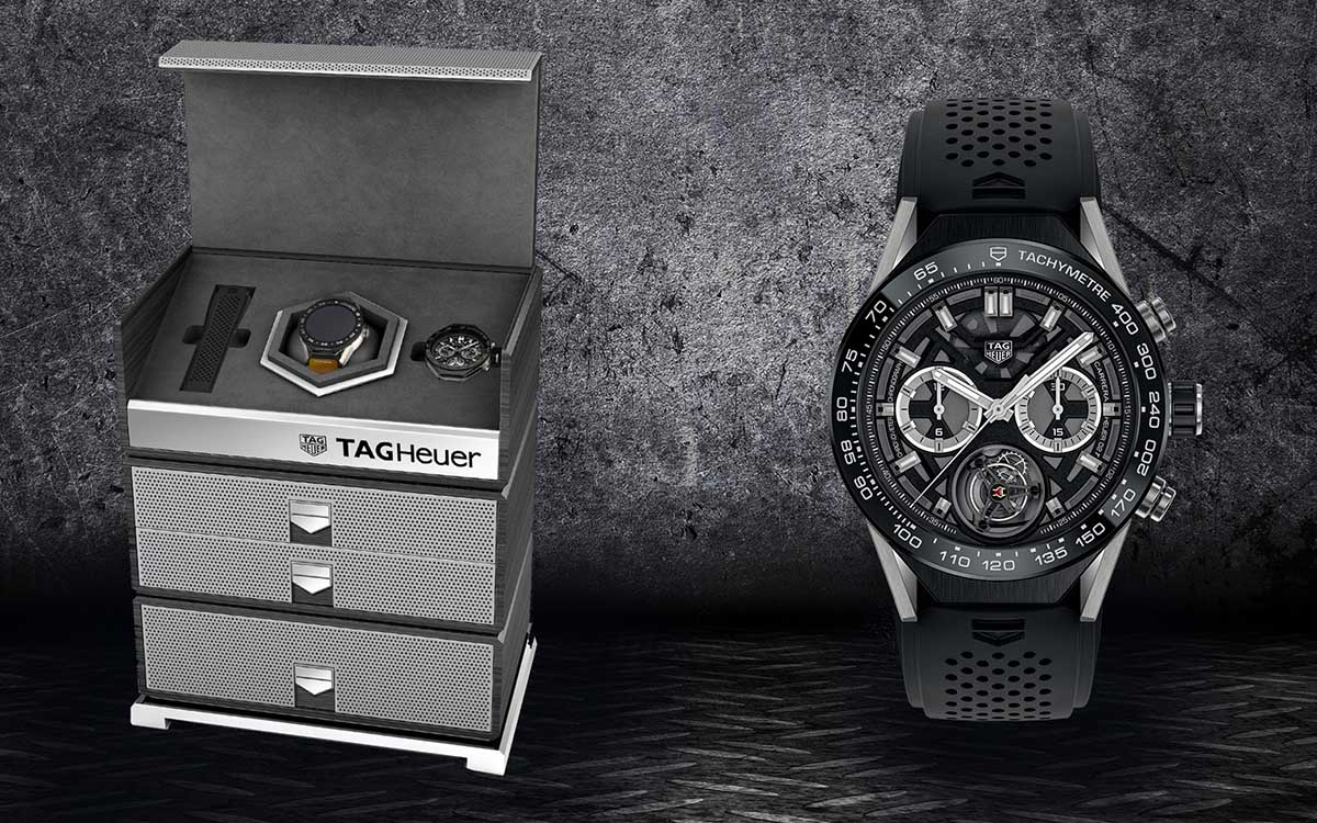 TAG Heuer Luxury Kit mood packshot fx