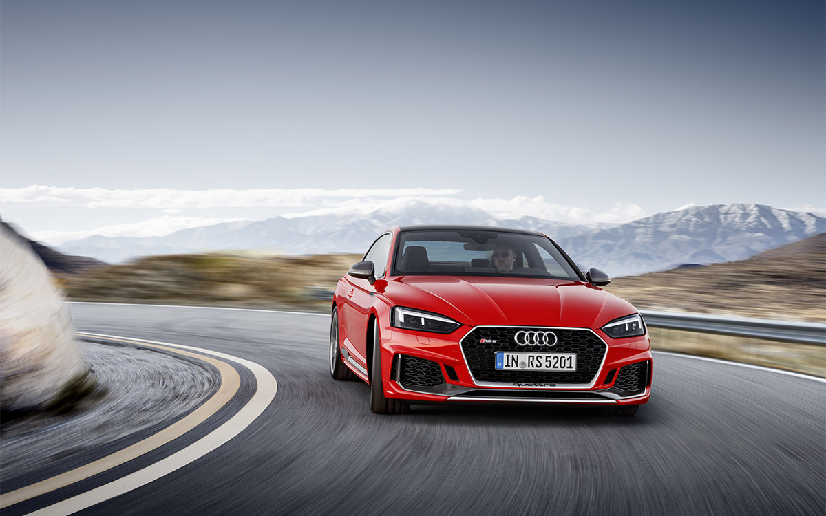 Audi RS 5 Coupe Frontal Ruta fx