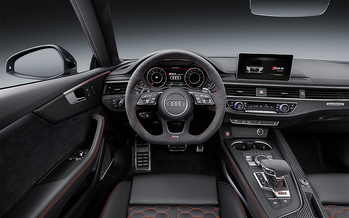 Audi RS 5 Coupe Interior Aerea fx