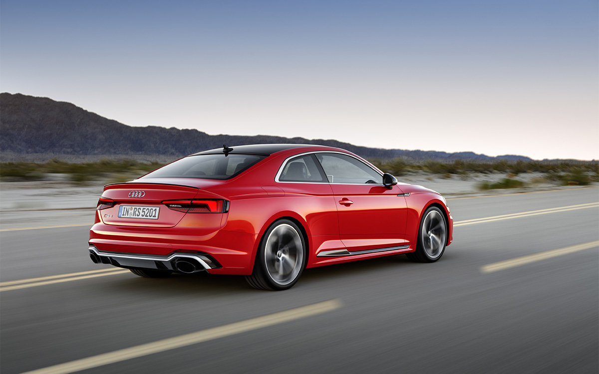Audi RS 5 Coupe Lateral Ruta fx