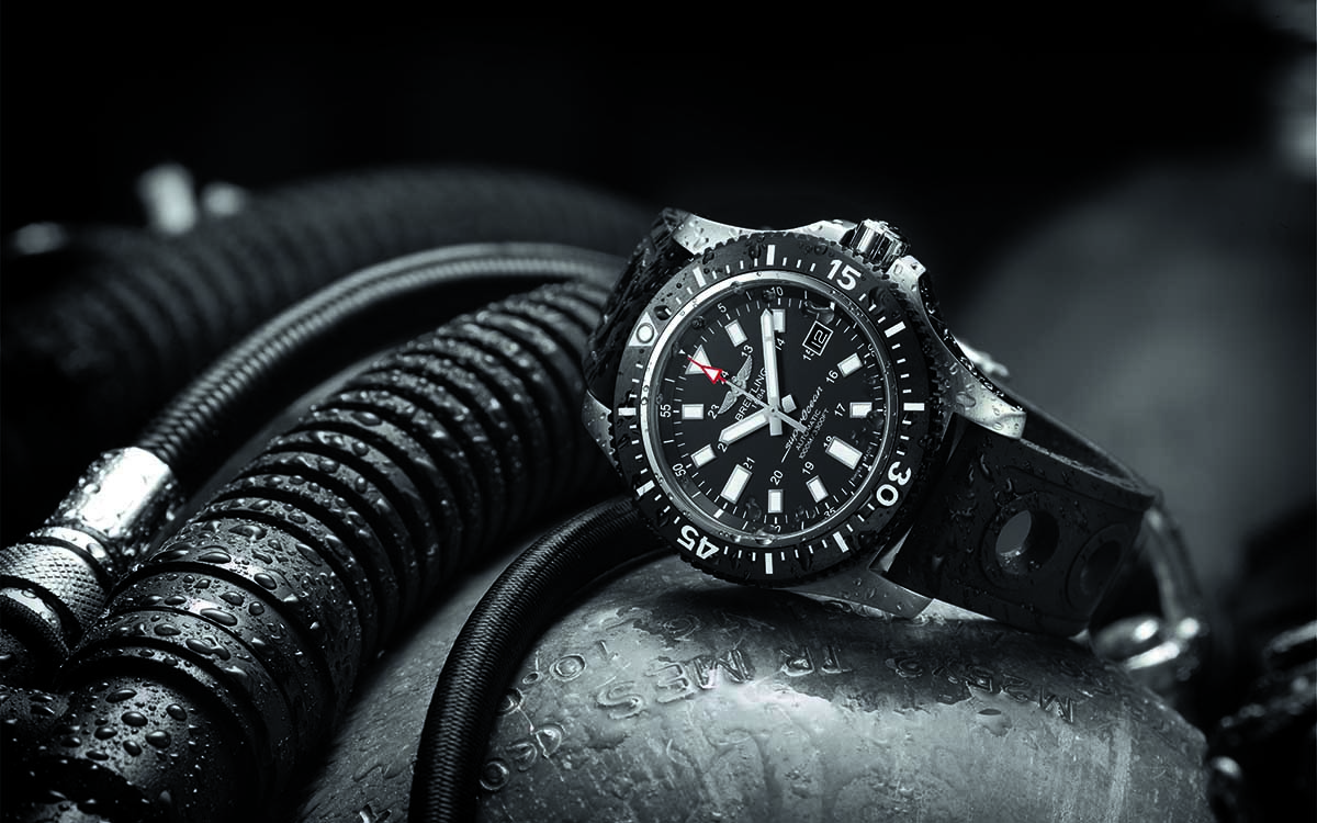 Superocean 44 Special black dial lateral fx