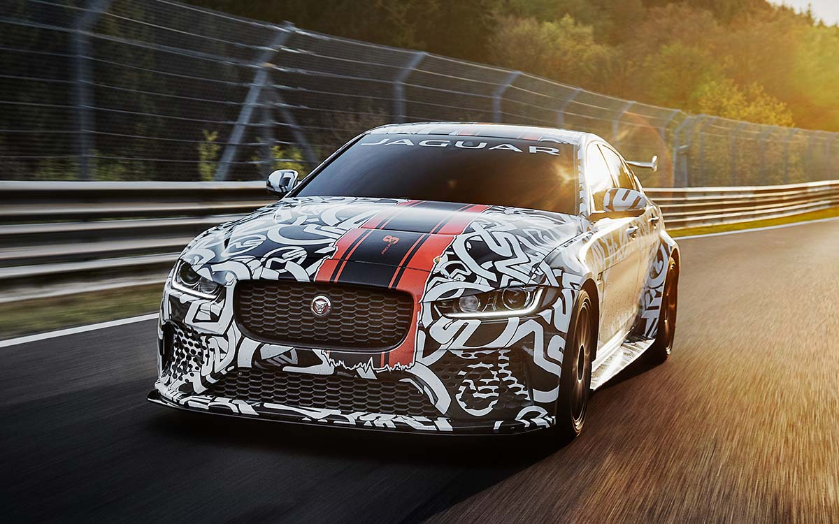 Jaguar XE SV Project 8 Frente fx