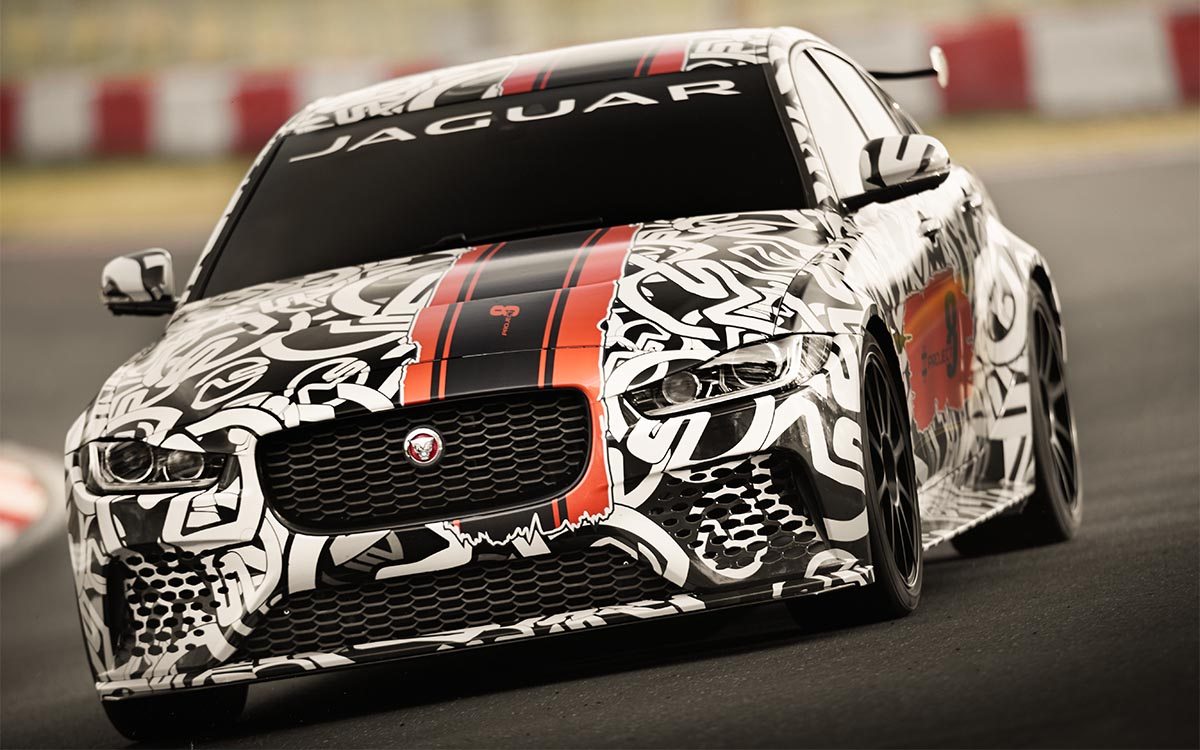 Jaguar XE SV Project 8 Frontal fx