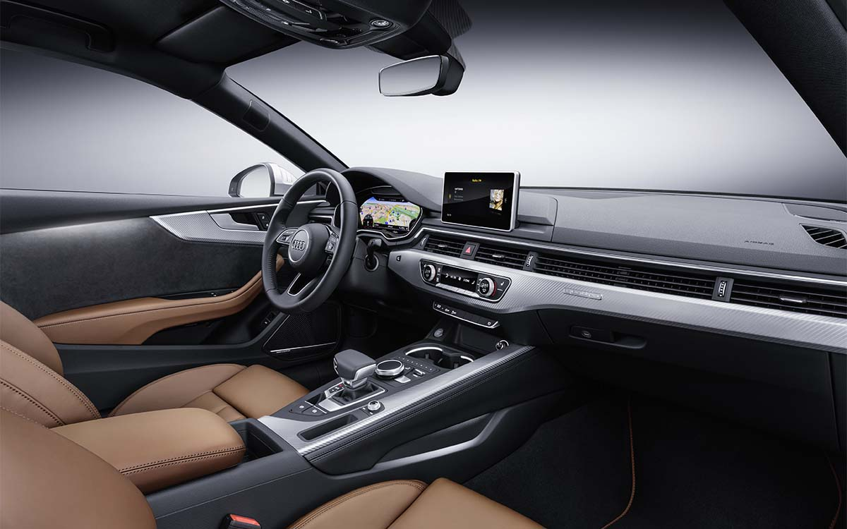 A5 Coupe Interior Lado fx